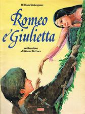FAMIGLIA CRISTIANA - ROMEO E GIULIETTA_realizzazione GIANNI DE LUCA - a fumetti