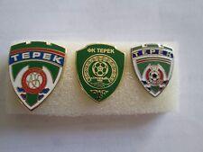 lotto 3 pins lot FK AKHMAT GROZNY FC club football spille Фк Ахмат Грозный