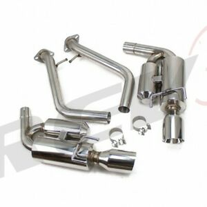 REV9 STAINLESS FLOWMAXX AXLE BACK EXHAUST KIT FIT 14-18 IS200T IS250 IS300 IS350