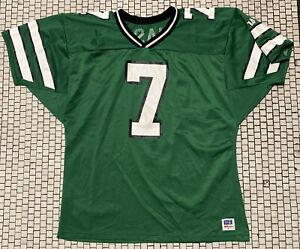 Wilson New York Jets Boomer Esiason Football Jersey #7 Size XL Rare Green Nwot