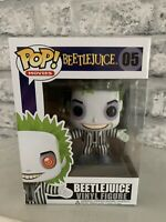 Funko Pop Beetlejuice RARE VAULTED #05 Protector (Tim Burton) Scary Cult Movie
