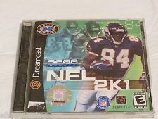 Dreamcast Sega sports NFL 2K1 video game everyone Dream cast