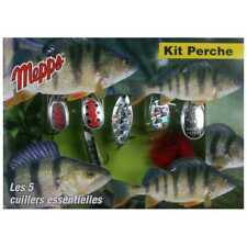 Mepps Perch Lure Kit Set Spinners Predator Pike Fishing L3134