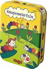 HABA Raupenwürfeln 301318 Canned Game Child's Play From 3 Years
