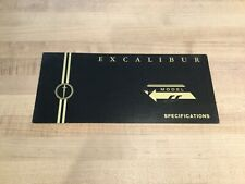 1973-1974 Excalibur car/automobile brochures