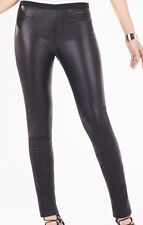 NEW WITH Defect $488 BCBG MAX AZRIA BAYNE LEATHER LEGGING Pant 3080 Sx XXS