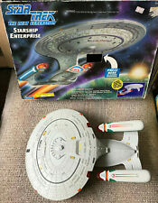 STAR TREK STARSHIP ENTERPRISE NCC-1701-D WITH BOX PLAYMATES 1992