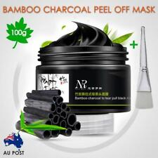 Bamboo Charcoal Clean Peel Off Gel Cooling Mask Mud Acne Pimples Blackheads 100g