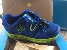 NIB Columbia Boys Drainmaker Water Shoes Blue Sz: 10C