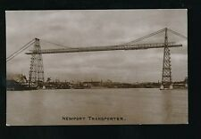 Wales Mon Monmouthshire NEWPORT Transporter used 1900s RP PPC