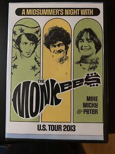 The Monkees Live DVD  NJ 7/17/13 Tork / Dolenz / Jones