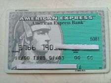 MEXICO CREDIT CARDS EXPIRED- AMERICAN EXPRESS - FOR COLLECTION