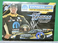 Matt Hagan Autographed Racing Flyer - MOPAR Express Lane Fast Oil Changes