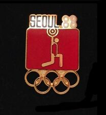 Weightlifting Olympic Pin ~ Seoul 1988