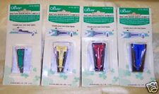 "4 Clover Bias Tape Makers Set : ¼""  ½""  ¾"" 1"" Quilting Sewing"