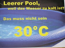 Bauanleitung für Poolheizung  Pool Heizung kein Solar .
