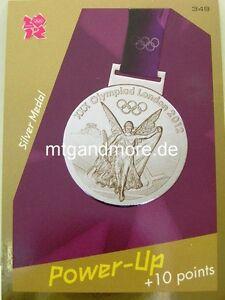 Adrenalyn XL London 2012 - #349 Silver Medal - Power-Up