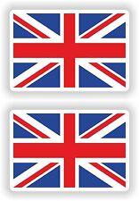 2 x British Flaggen Vinyl Aufkleber Union Jack Großbritannien