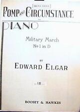 ORIGINAL EDITION 1901 POMP & CIRCUMSTANCE MILITARY MARCH No1 in D EDWARD ELGAR