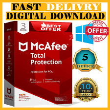 Download McAfee Total Protection 2020 ✅3 Devices 10 Years ✅ instant Delivery  🔑