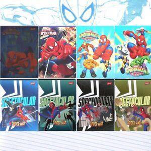 Spider-man, Spiderman & Friends, handwriting exercise book. Zeszyt w 3 linie.