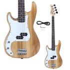 Glarry Basswood Electric GP Bass Guitar with Bag Pick Wire Tools Left-Hand for sale