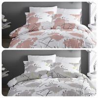 Dreams & Drapes STARLINE Geometric Flowers Easy Care Duvet Cover Set
