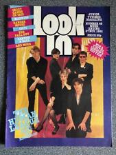 LOOK IN COMIC 48 27/11/82 HUMAN LEAGUE HAIRCUT 100 CHIPS FALL GUY DANGER MOUSE