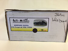 Hecto Models 1934 Hispano Suiza J12 Coupe deVille 1 /43 scale model car BOX ONLY