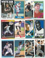 Huge Lot of 1000 Chicago White Sox Cards; 1986-1997; NM-Mint