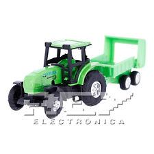 Tractor Remolque Juguete Vehículo Agrícola Paca Rural ¡Desde España! j151