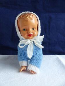 Max Carl  Krabbelbaby Baby Puppe original 60er Uhrwerk