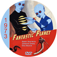 "Fantastic Planet (1973) Classic Animation and Sci-Fi CULT ""B-Movie"" DVD"