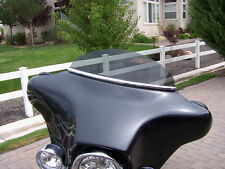 Harley Windshield FLHT FLHTC FLHX 6 in Medium Gray 1996-2013