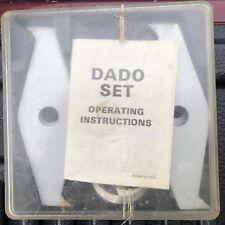 Shopsmith Dado blade set