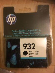 GENUINE HP 932 Black Ink Cartridge CN057AE 6100/6600/6700/7110/7612 DATED 2018