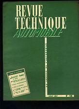 (C12)REVUE TECHNIQUE AUTOMOBILE RENAULT DAUPHINE / VELAM ISETTA 57