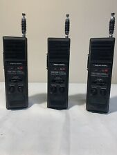 3 VTG Realistic TRC-214 3 Channel Citizen Band Walkie Talkie Lot Of 3
