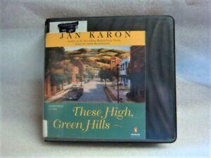 THESE HIGH GREEN HILLS by Jan Karon AUDIO - 12 CD Set (1996)