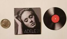 Miniature record album Barbie 1/6    Playscale Album Adele Rolling in the Deep
