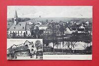 AK Sächsische Schweiz RATHEWALDE 1914 Ritters Gasthof und Ortsansicht    ( 34963
