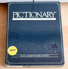 Pictionary - The Game of Quick Draw -Commodore/AMIGA/Original verpackung / Boxed