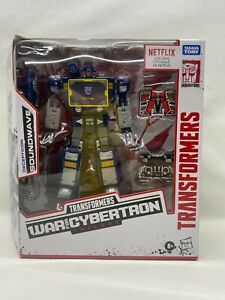 Hasbro Transformers Netflix War for Cybertron SOUNDWAVE WalMart Exclusive