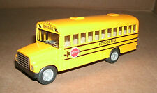 """1/62 Scale International Truck School Bus Diecast Model 5"""" Toy - Kinsfun KS5107"""