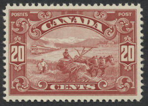 Canada #157 20c Harvesting Mint VF NH (see note)