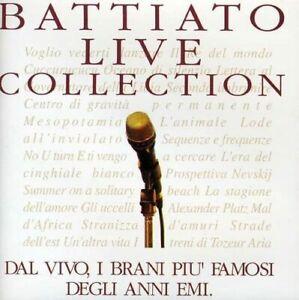 Franco Battiato Live Collection 2 CD Nuovo Sigillato Raccolta Best