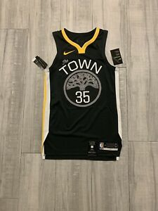 Nike NBA Authentic Jersey NWT Kevin Durant Golden State Warriors The Town Sz 40