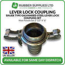 """Bauer Type Coupling - Male + Female Set 2"""" 3.5"""" 4"""" 6"""""""
