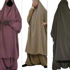 Muslim Amira Prayer Caps Big Hijab Burqa Islam Overhead Abaya Jilbab