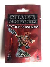 Warhammer Gotrek gurnisson enano Slayer Black Library Games Workshop Nuevo Metal